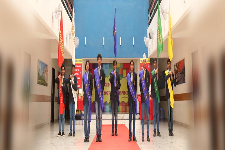 Podar World School-Inter house Team