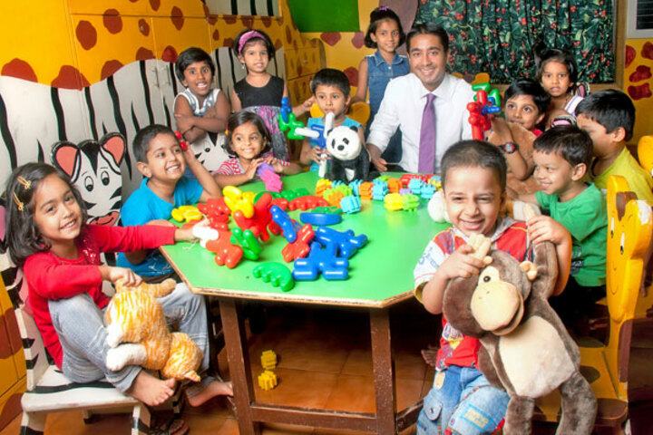 Podar World School-Play Area For Play School Kids