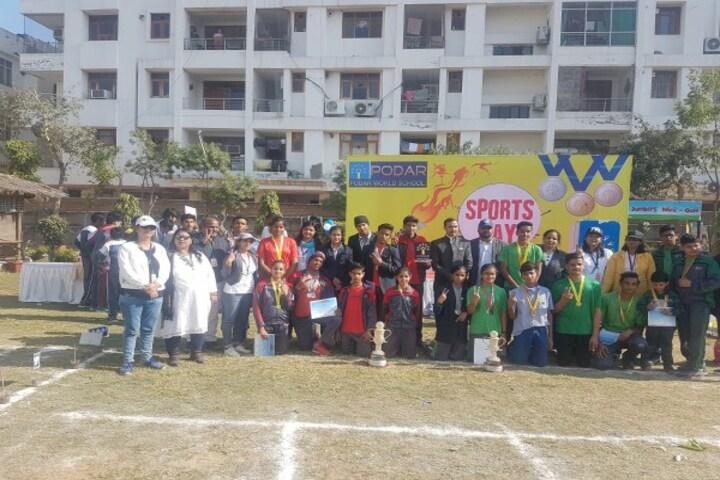 Podar World School-Sports Team Winner