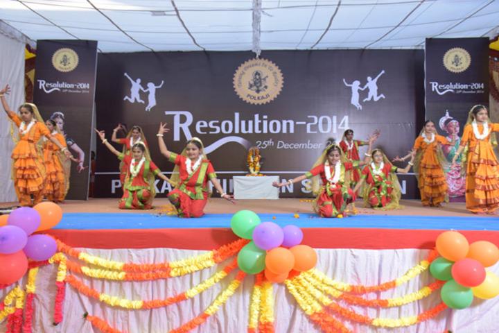 Polkaji Shikshan Sansthan-Dance