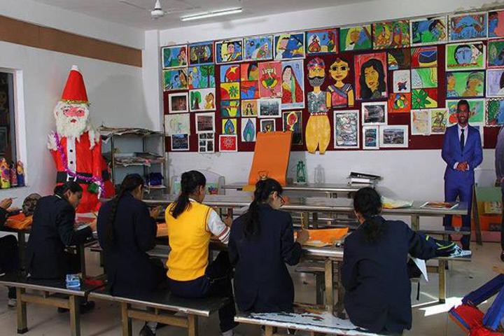 Presidency School-Art class
