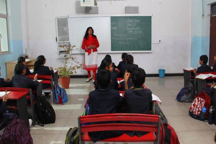 Presidency School-Smart classroom