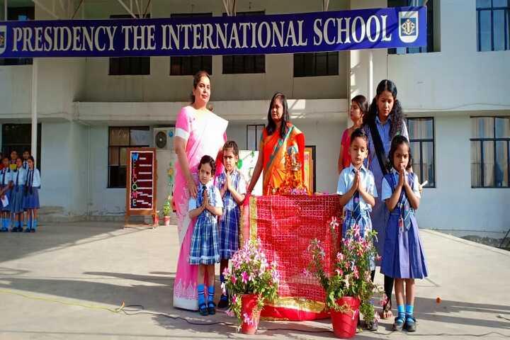 Presidency The International School-Prayer Time