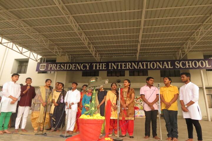 Presidency The International School-Singing