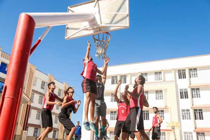 Prince Academy Of Higher Education-Basket ball court