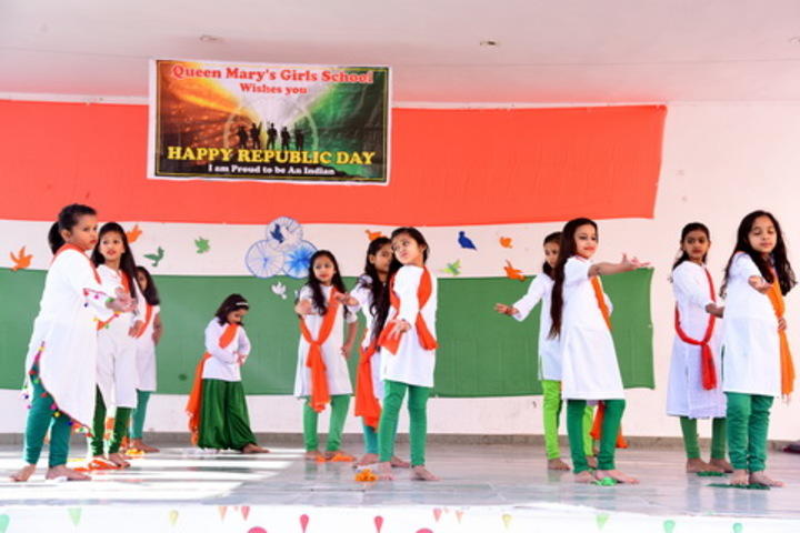 Queen Marys Girls School-Republic Day