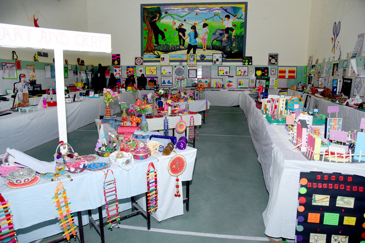 Queen Marys Girls School-School Exhibition