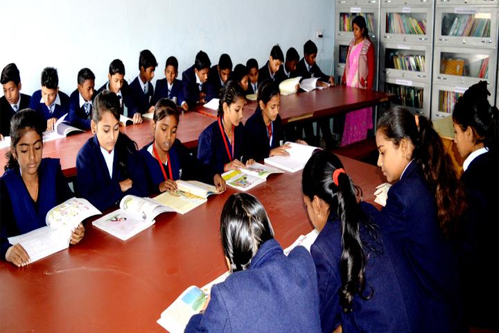 Krishna Sudarshan Public School-Library