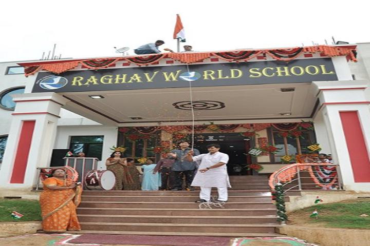 Raghav World School-Independence day