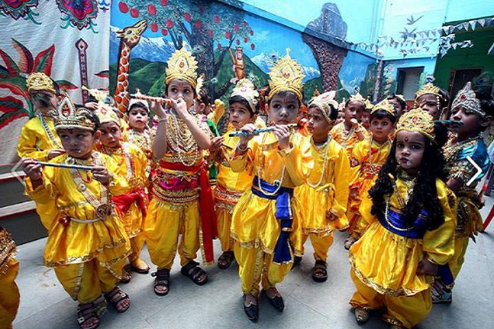 Raghav World School-Cultural Day