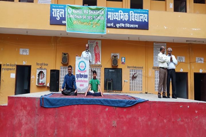 Rahul Ma Shikshan Sansthan U Ma School-Yoga