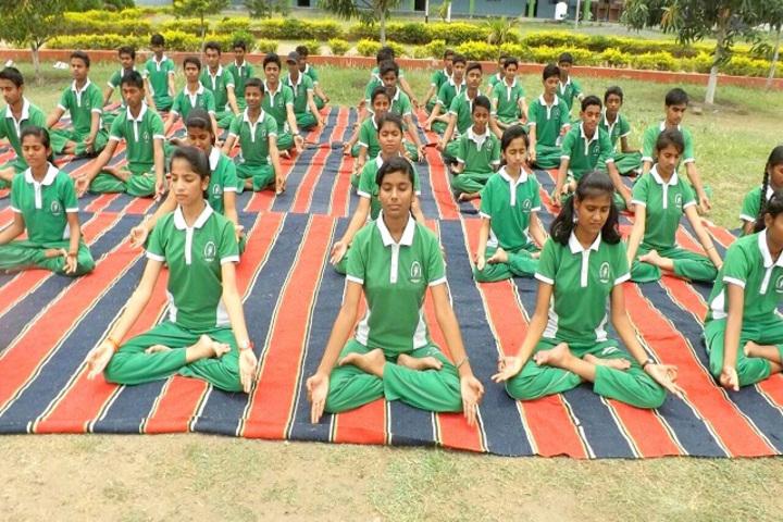 Lakshya International Academy-Yoga day celebrations