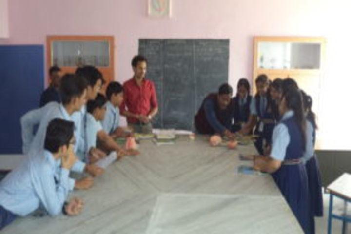 Raj Public Senior Secondary School-Biology Lab