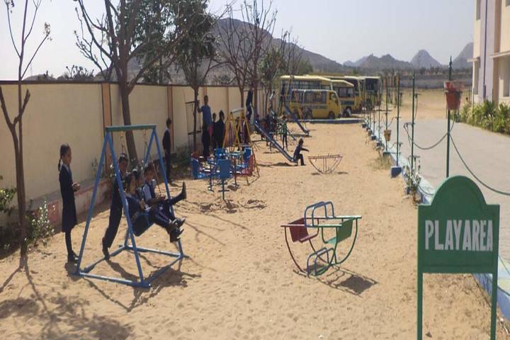 Raj Public Senior Secondary School-Play Area