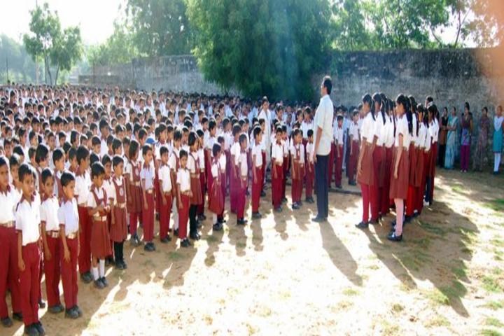 Rajdhani Public School-Assembly