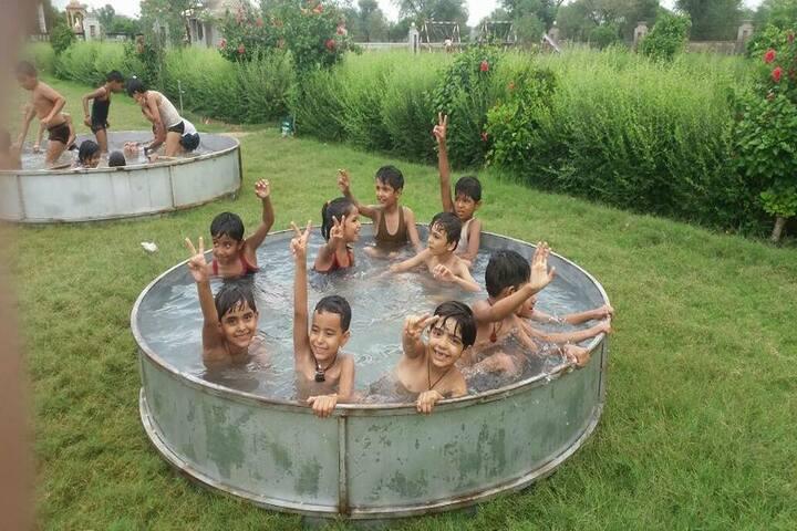 Rana International School-Pool fun