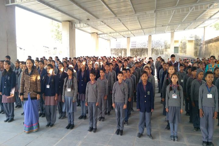 Rani Devendra Kumari Public School-Assembly