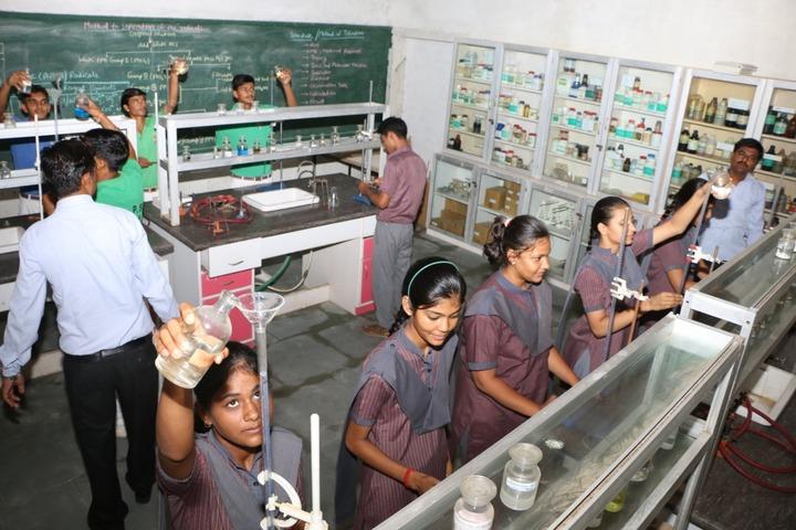 Rani Devendra Kumari Public School-Chemistry Lab