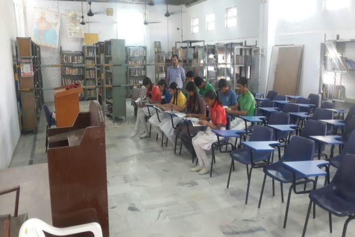 Rani Devendra Kumari Public School-Library