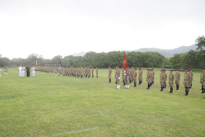 Rashtriya Military School-Scouts and Guides