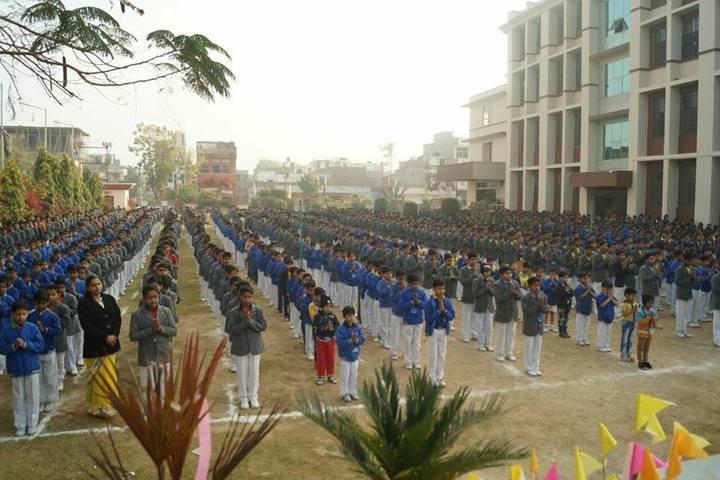Rawat Public School-Assembly