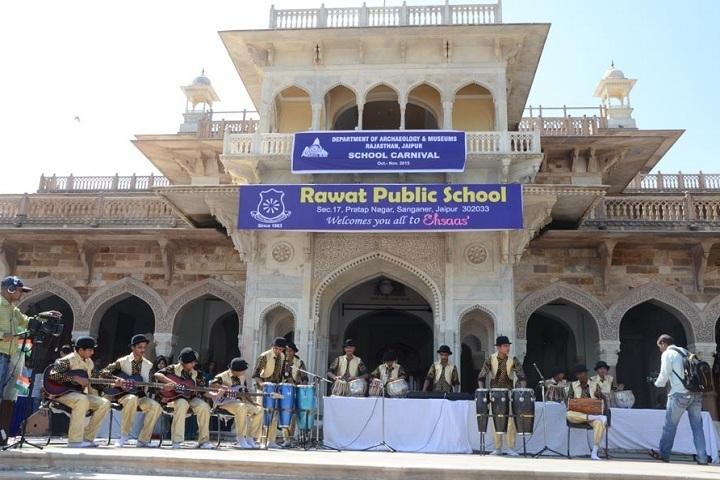 Rawat Public School-Building