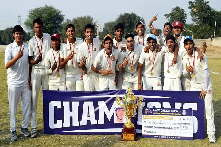 Rawat Public School-Cricket Champions
