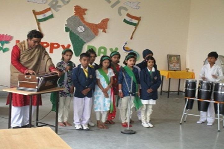 Right Start Inter Continental School-Music Class