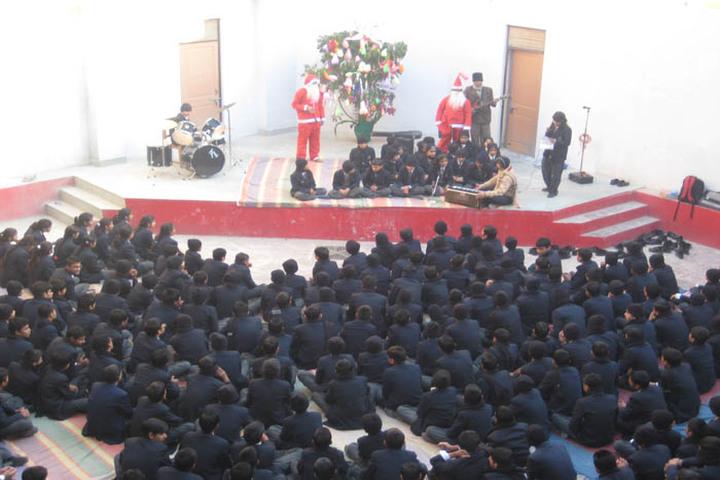 S M Nimawat Public School-Christmas Celebrations