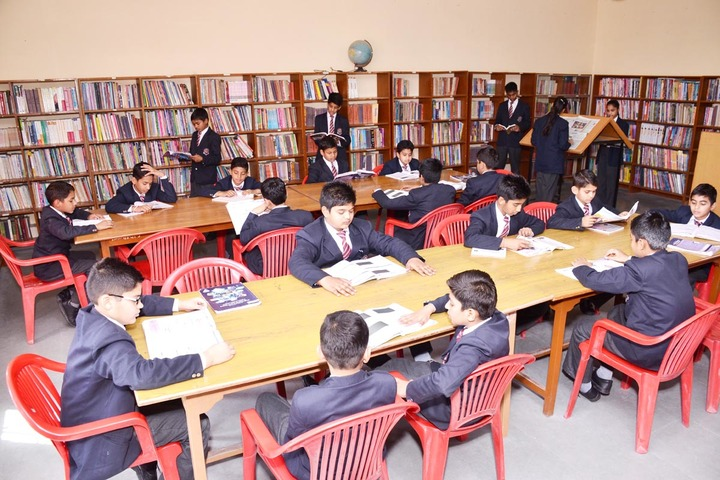 S M Nimawat Public School-Library