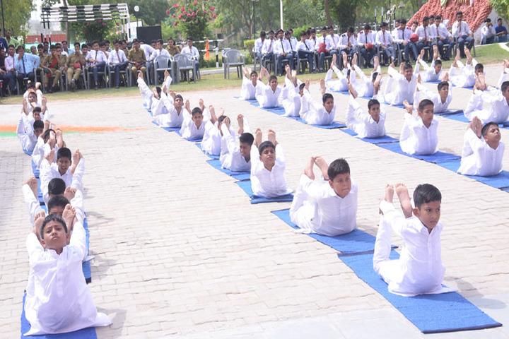 S M Nimawat Public School-Yoga