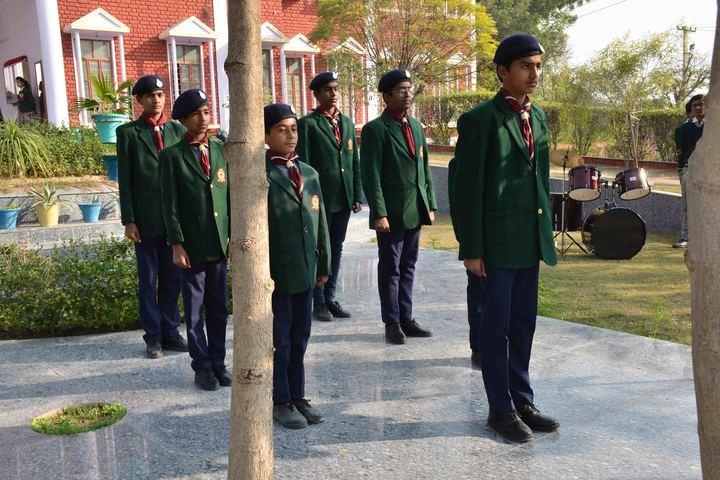 S R M Inernational School-Scouts