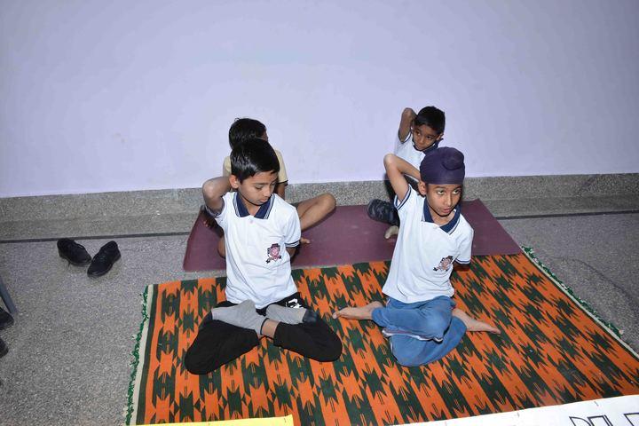 S R M Inernational School-Yoga