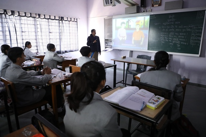 S V Public School-Audio Visual Room