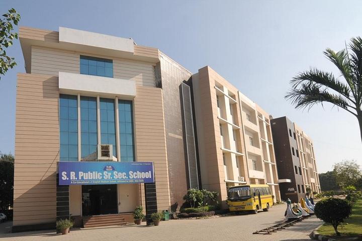 S R Public Senior Secondary School-Building