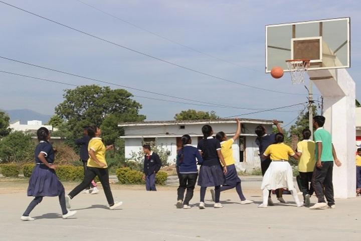 Sai Baba Public School-Basket Ball Court