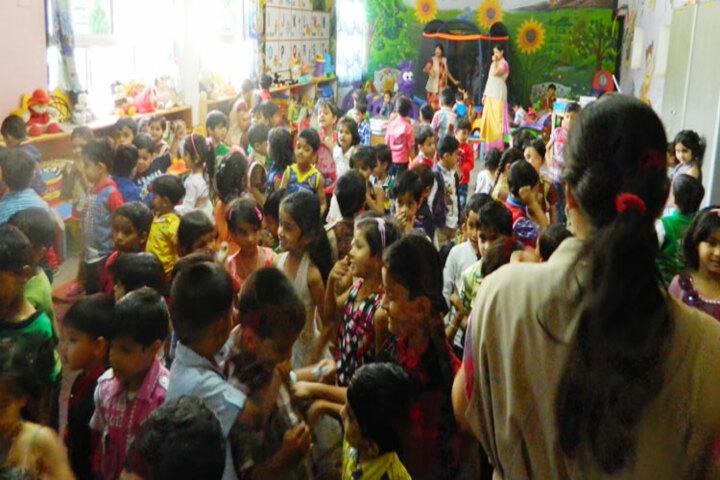 Sai Baba Public School-Pre Primary Classroom