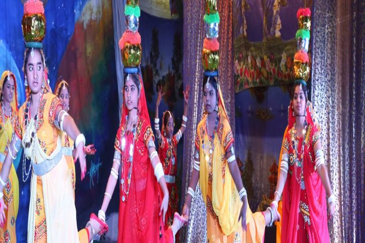 Bal Bharati Public School-Traditional Dance