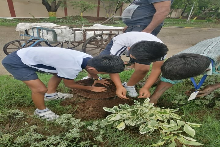 Sangam School Of Excellence-Plantation Activity
