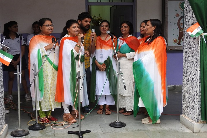 Sangam School of Excellence-Patriotic Day