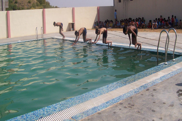Sanskar Bharti Public School-Swimming Pool
