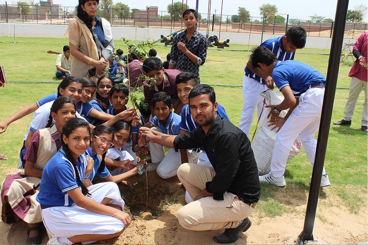 Sanskar International Public School-Plantation Activity
