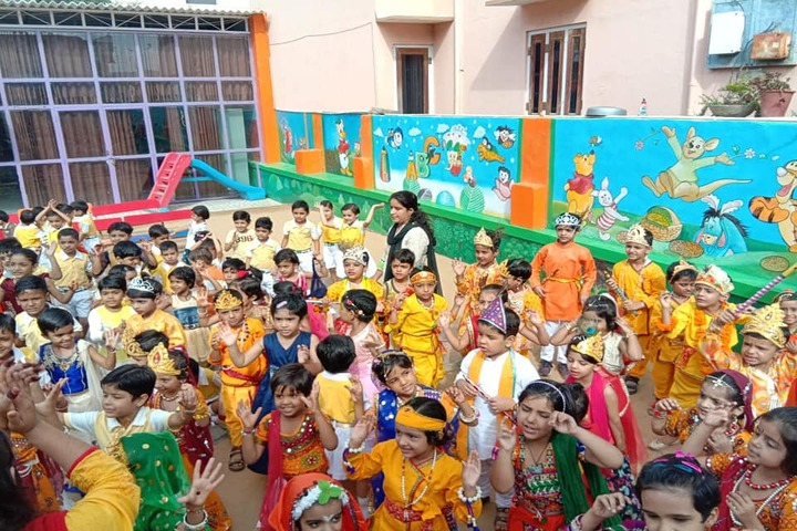 Sanskar International School-Janmashtami