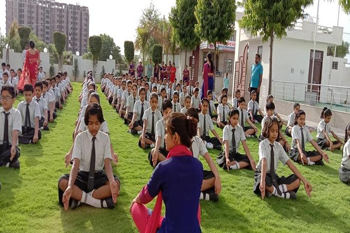 Sanskar International School-Yoga