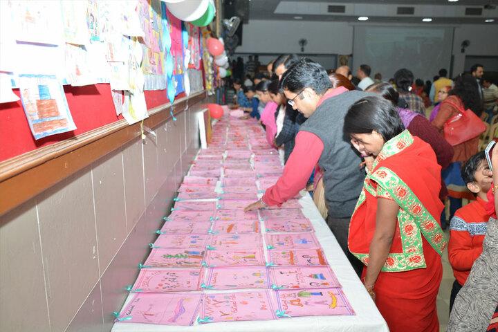 Sanskar School-Art Exhibition