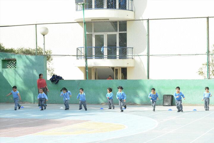 Sanskar School-Pre Primary Sports Day