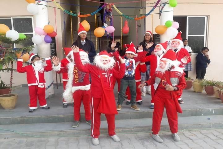 Saraswati English Medium School-Christmas Celebrations