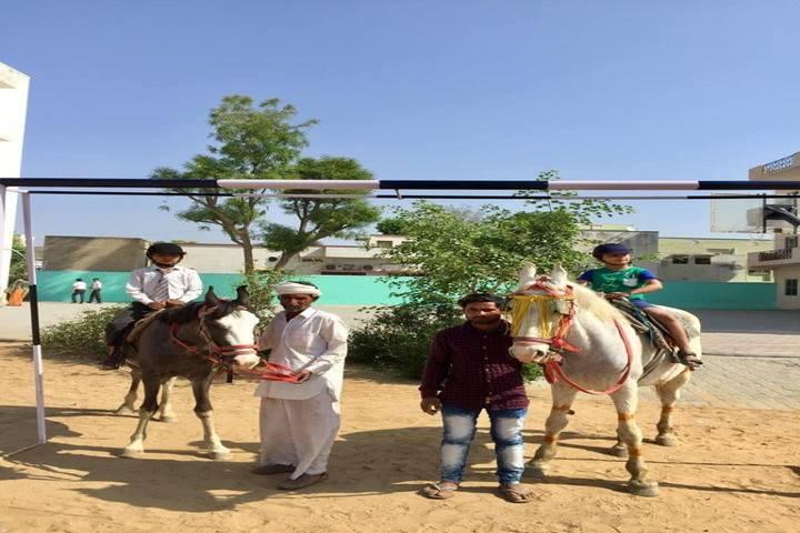 Saraswati English Medium School-Horse Riding