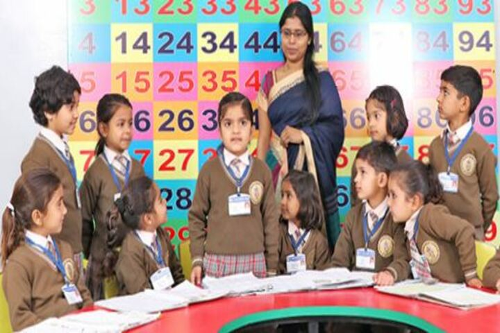 Saraswati Shikshan Sadan Convent School-Class Room Activity
