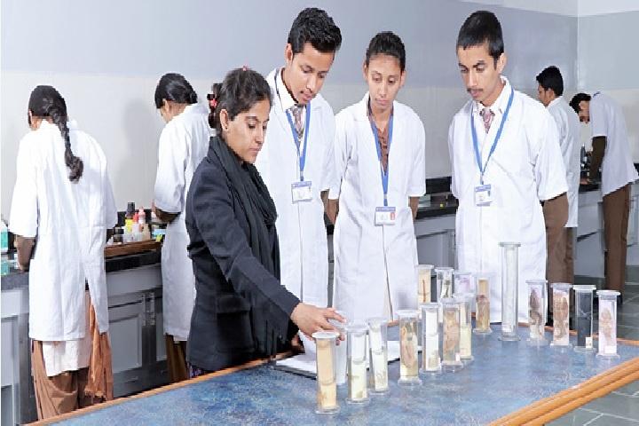 Saraswati Shikshan Sadan Convent School-Biology Lab